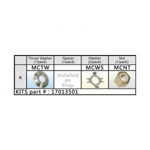 Solas Mercury Nut Kit (17013501)