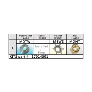 Solas Mercury Nut Kit (17014501)